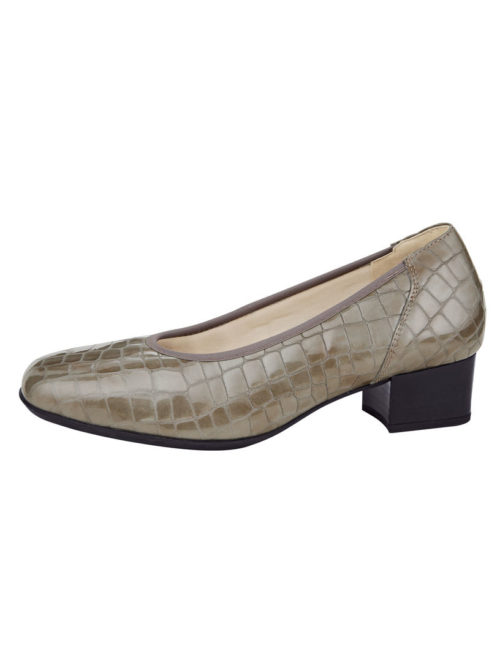 Pumps Goldkrone taupe