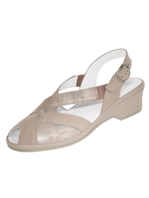 Sandalette Florett taupe