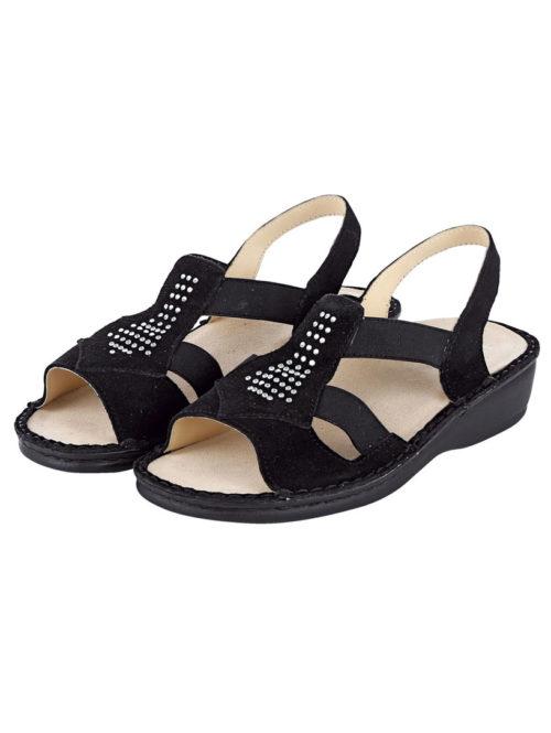 Sandalette Jolie Madame schwarz