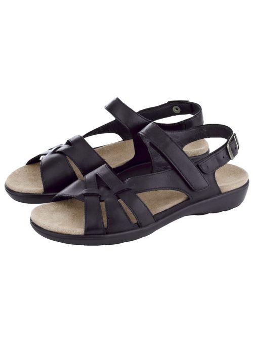 Sandalette Naturläufer schwarz