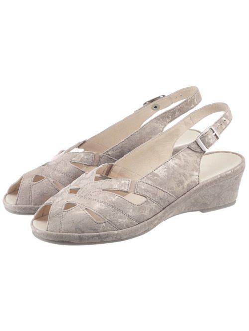 Sandalette Semler taupe/gold
