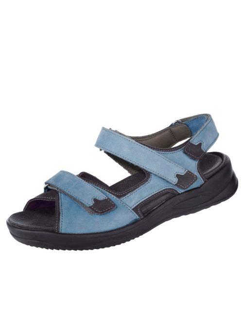 Sandalette Ströber blau-schwarz