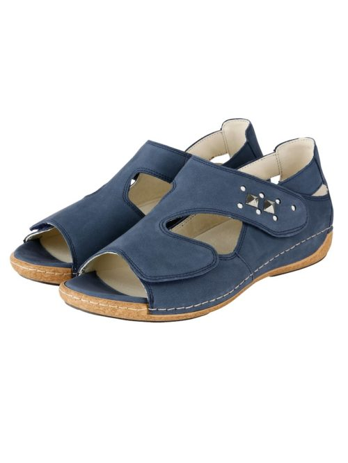Sandalette Waldläufer jeansblau