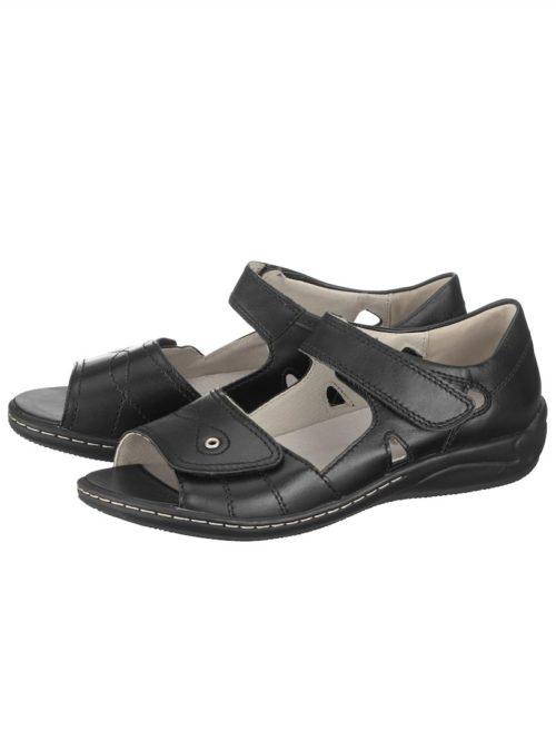 Sandalette Waldläufer schwarz