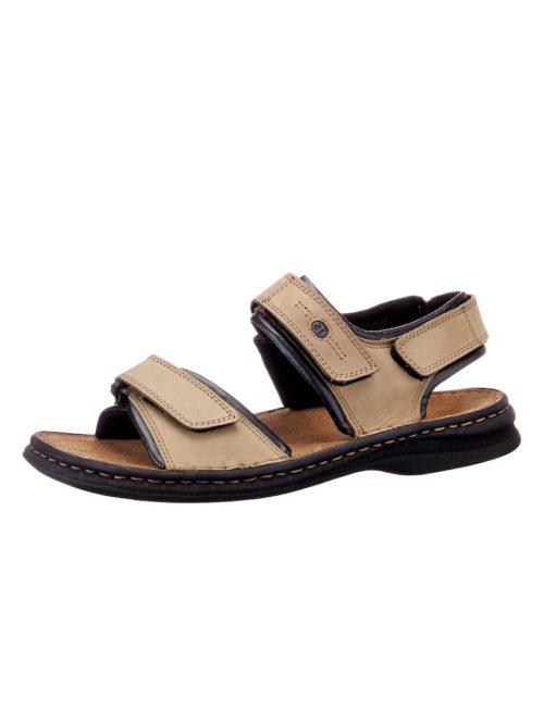 Sandale Josef Seibel beige-schwarz