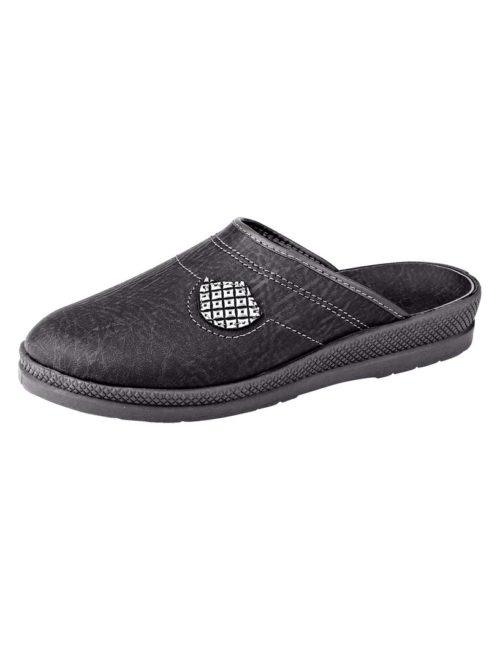 Pantoffel Gebha grau