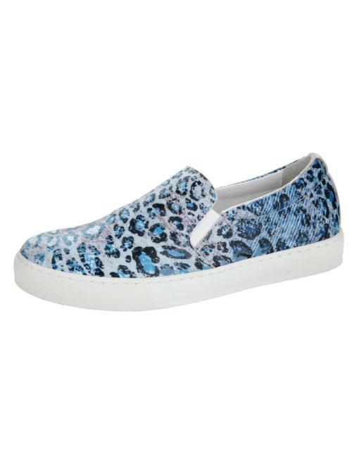 Slipper bleu/leo