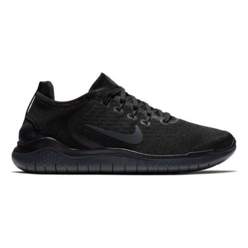Nike Free RN 2018 Damen Laufschuhe black Gr. 38