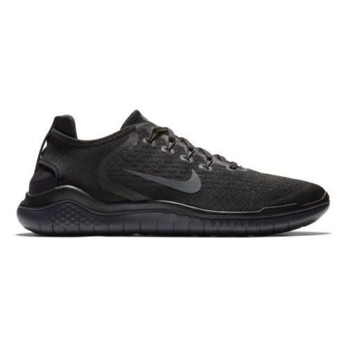 Nike Free RN 2018 Herren Laufschuhe black Gr. 42