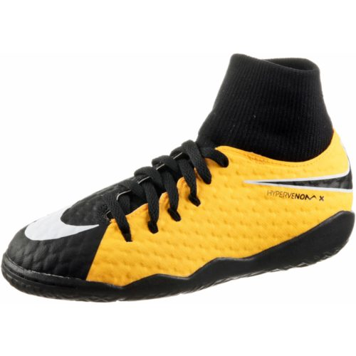Nike JR HYPERVENOMX PHELON 3 DF IC Fußballschuhe Kinder
