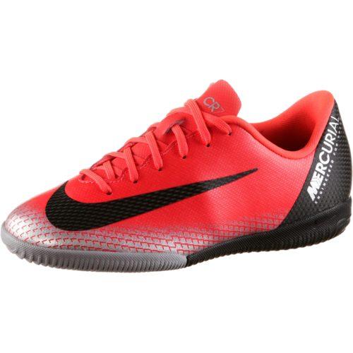 Nike MERCURIAL JR VAPORX 12 ACADEMY GS CR7 IC Fußballschuhe Kinder