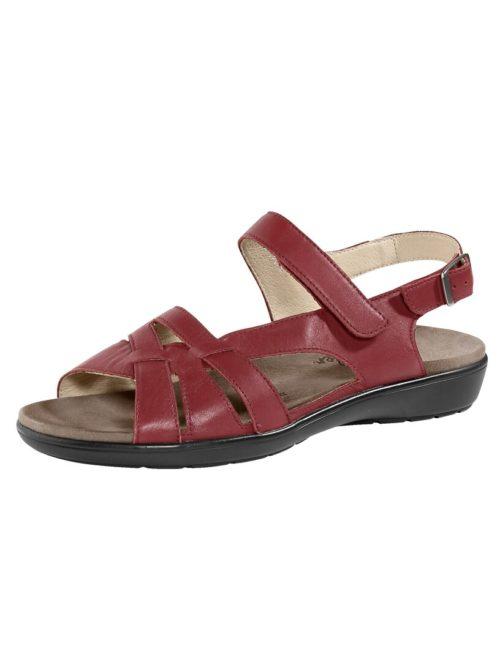 Sandalette Naturläufer rot