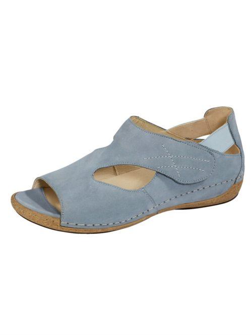 Sandalette Waldläufer hellblau