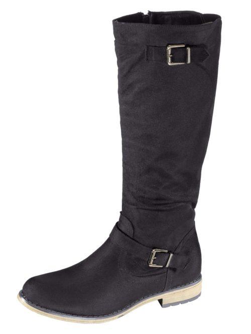Stiefel Fitters Footwear schwarz