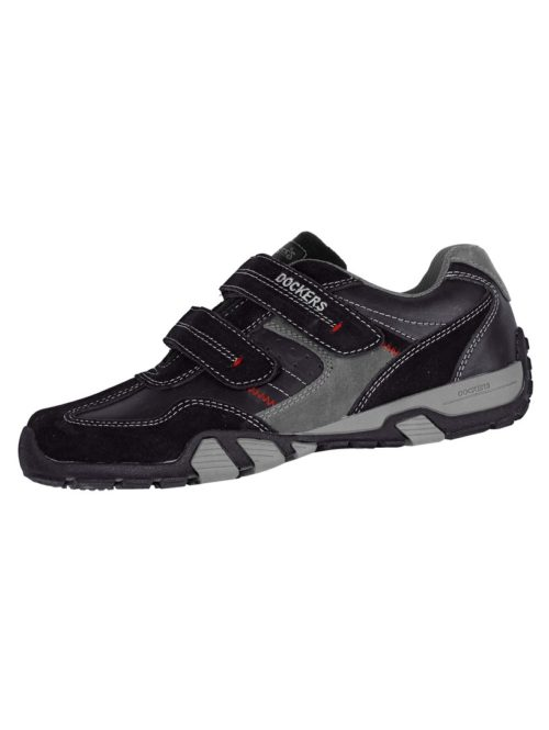 Klettslipper Dockers schwarz/grau