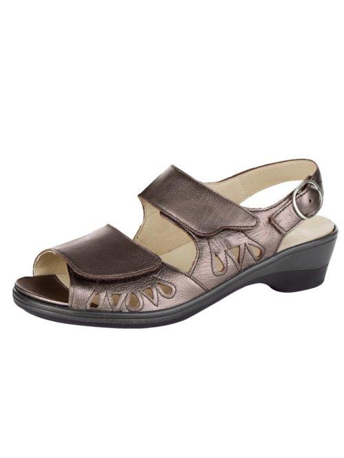 Sandalette Waldläufer bronzefarben