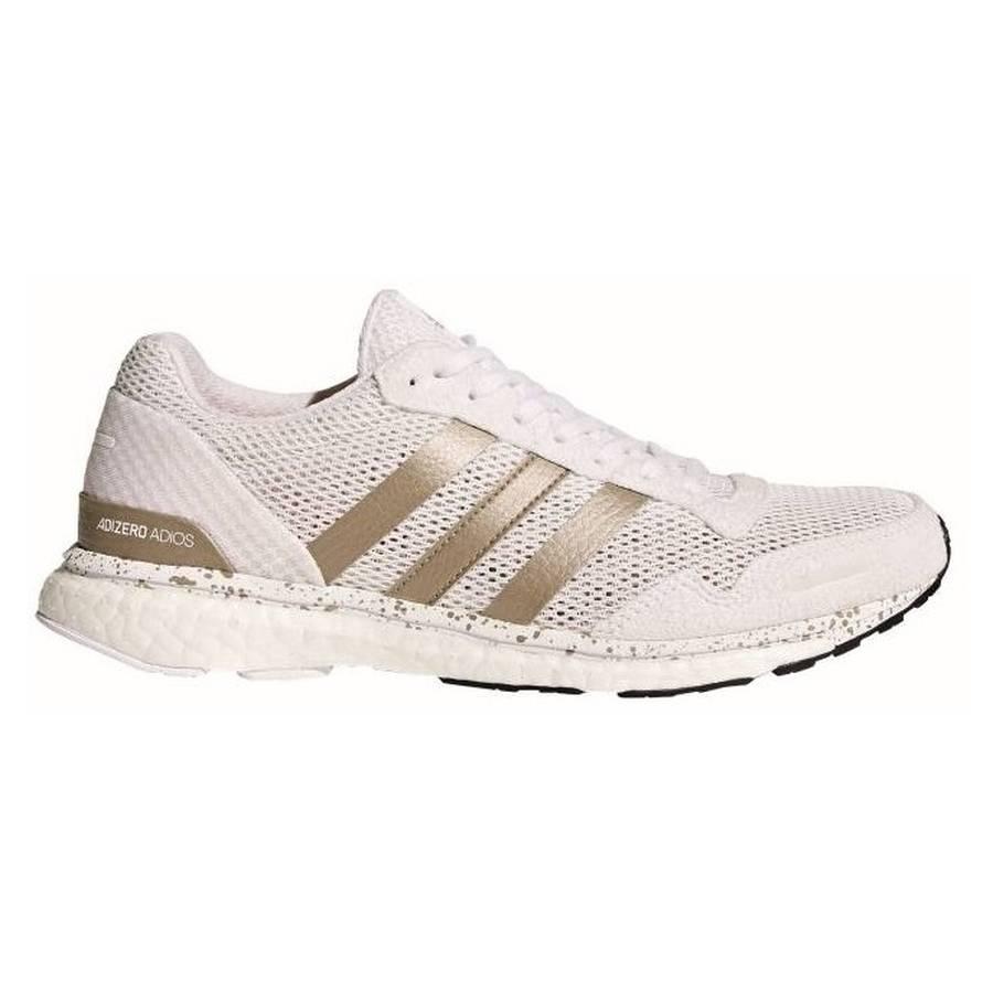 adidas Adizero Adios Boost 3 Damen Laufschuhe weiß Gr. 38 2
