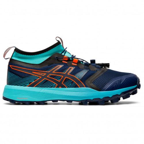 Asics - Women's FujiTrabuco Pro - Trailrunningschuhe Gr 10;10,5;6;6,5;7;7,5;8;8,5;9;9,5 schwarz/grau;schwarz/türkis/blau