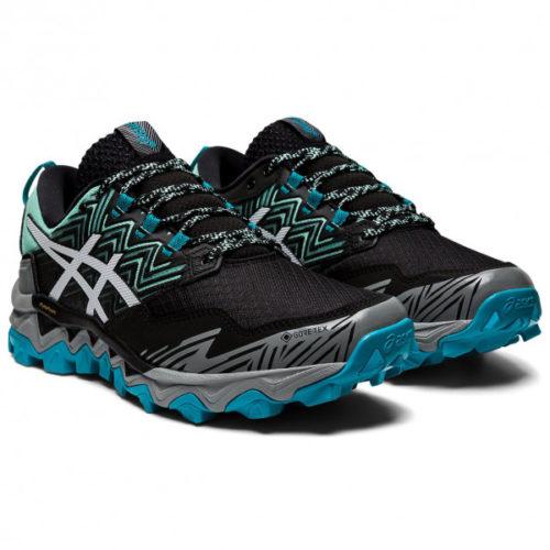 Asics - Women's Gel-FujiTrabuco 8 GTX - Trailrunningschuhe Gr 10;10,5;6;6,5;7;7,5;8;8,5;9;9,5 schwarz;schwarz/grau