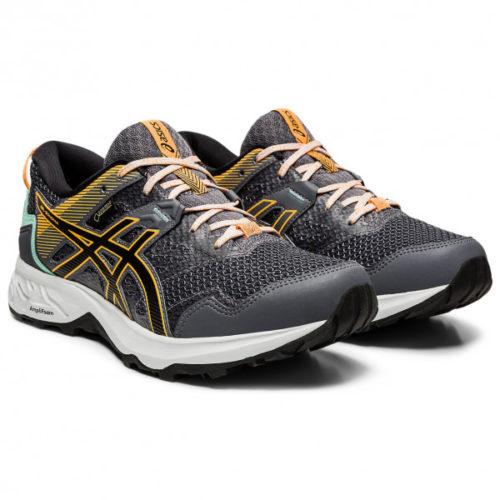 Asics - Women's Gel-Sonoma 5 GTX - Trailrunningschuhe Gr 6 schwarz/grau