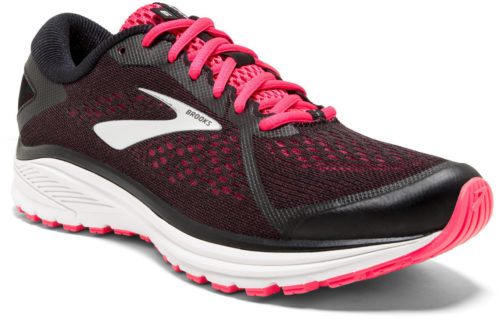 Brooks Aduro 6 W black/pink/silver