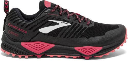 Brooks Cascadia 13 GTX Women black /pink /coral
