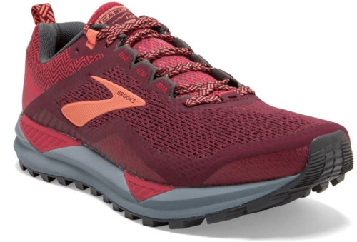 Brooks Cascadia 14 Women rumba red/teaberry/coral