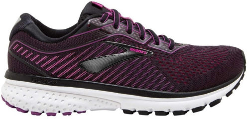 Brooks Ghost 12 Women black/hollyhock/pink