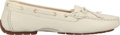 Clarks C Mocc Boat white/leather