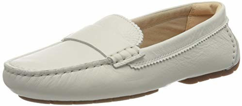 Clarks C Mocc white/leather