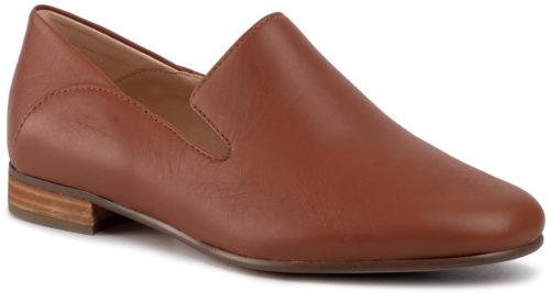 Clarks Pure Viola tan leather