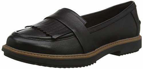 Clarks Raisie Theresa black leather