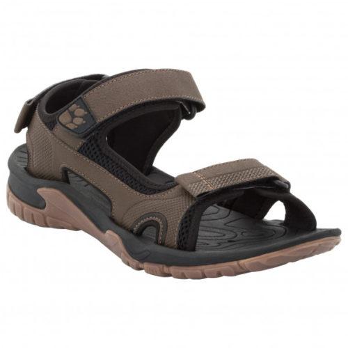 Jack Wolfskin - Lakewood Cruise Sandal - Sandalen Gr 7 schwarz/braun