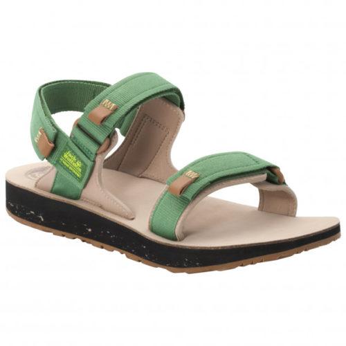 Jack Wolfskin - Outfresh Deluxe Sandal - Sandalen Gr 7 beige/braun/grün