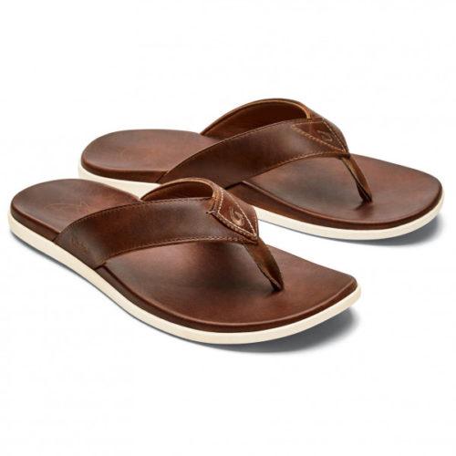 Olukai - Nalukai Sandal - Sandalen Gr 10;11;12;13;14;15;7;8;9 schwarz;braun/weiß