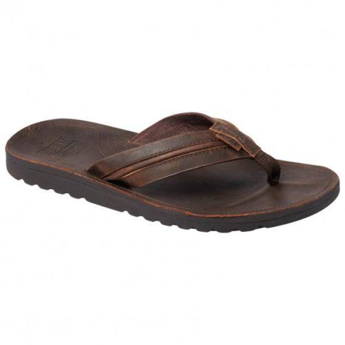 Reef - Voyage Lux Leather - Sandalen Gr 10;11;12;13;9 grau/braun
