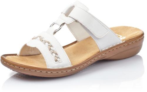 Rieker Pantolette (60888) weiß