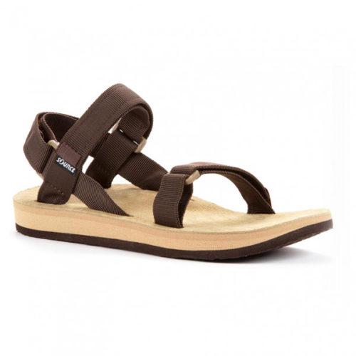 Source - Leather Urban - Sandalen Gr 40 braun/beige