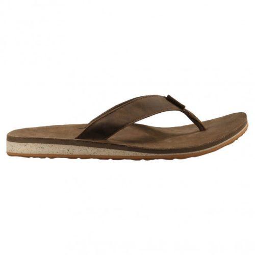 Teva - Classic Flip Premium - Sandalen Gr 8 braun