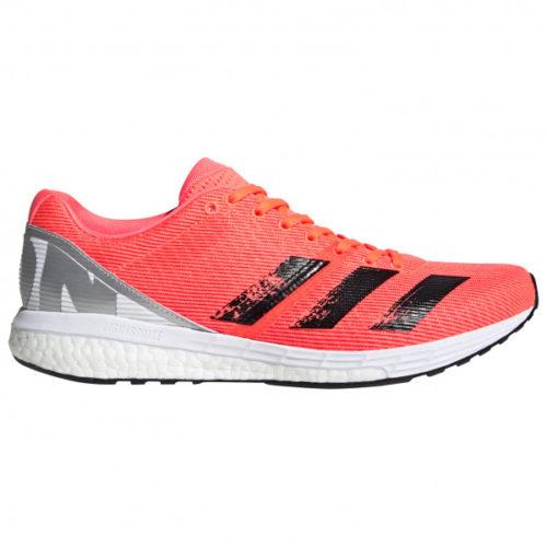 adidas - AdiZero Boston 8 - Runningschuhe Gr 7,5 rot/grau