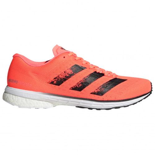 adidas - Adizero Adios 5 - Runningschuhe Gr 7,5 rot/grau