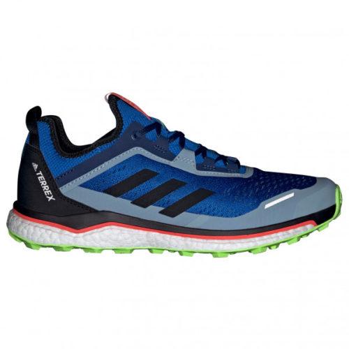 adidas - Terrex Agravic Flow - Trailrunningschuhe Gr 7,5 blau/grau/schwarz