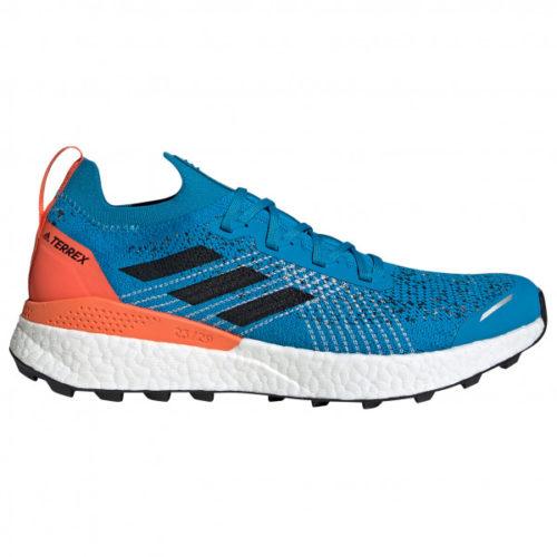 adidas - Terrex Two Ultra Parley - Trailrunningschuhe Gr 7,5 blau/grau
