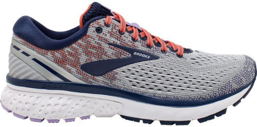 Brooks Ghost 11 Women Grey/Blue/Coral
