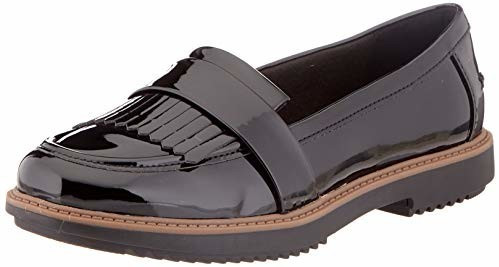 Clarks Raisie Theresa black synthetic