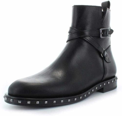 Damen Alpe Stiefeletten schwarz Stiefel 40