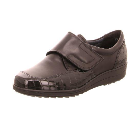 Damen Ara Komfort Slipper schwarz 40