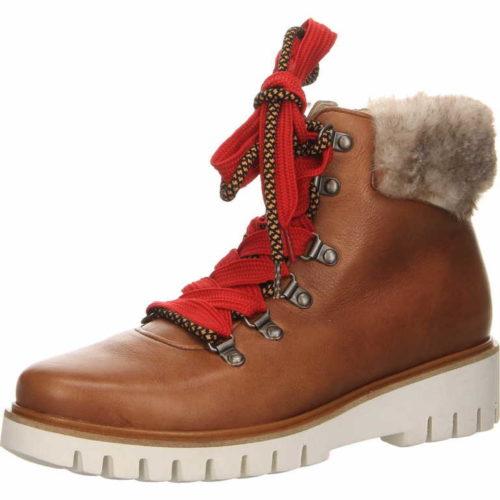 Damen Ara Schnür-Stiefeletten braun Jackson Boots 42