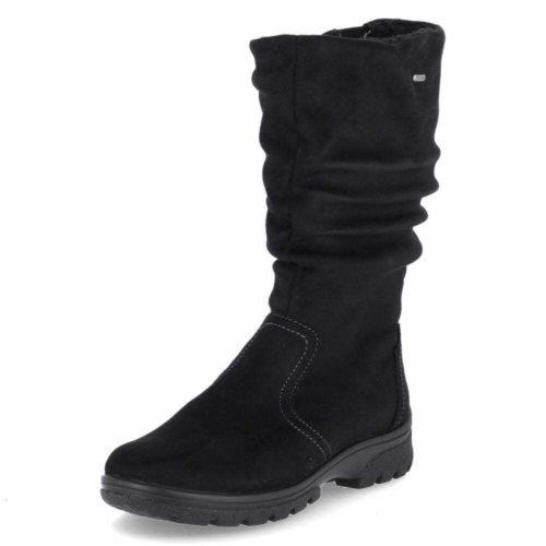 Damen Ara Stiefel schwarz 40