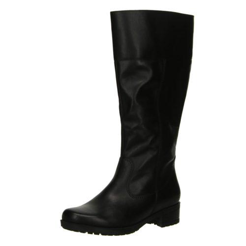 Damen Ara Stiefel schwarz OXFORD Weitschaft 37,5